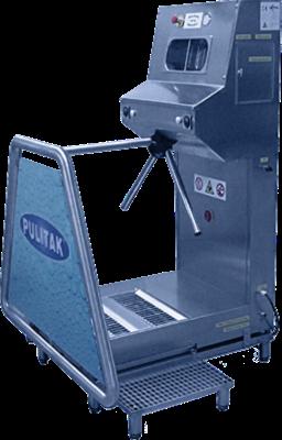 Motorized hygiene stations